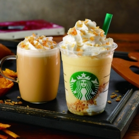 "[Starbucks new work] Warm ""Krispy sweet potato Frappuccino ®"" comes up in autumn! ◆Thursday, September 13 - 30 Sunday"