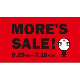 Summer MORE'S SALE held decision!